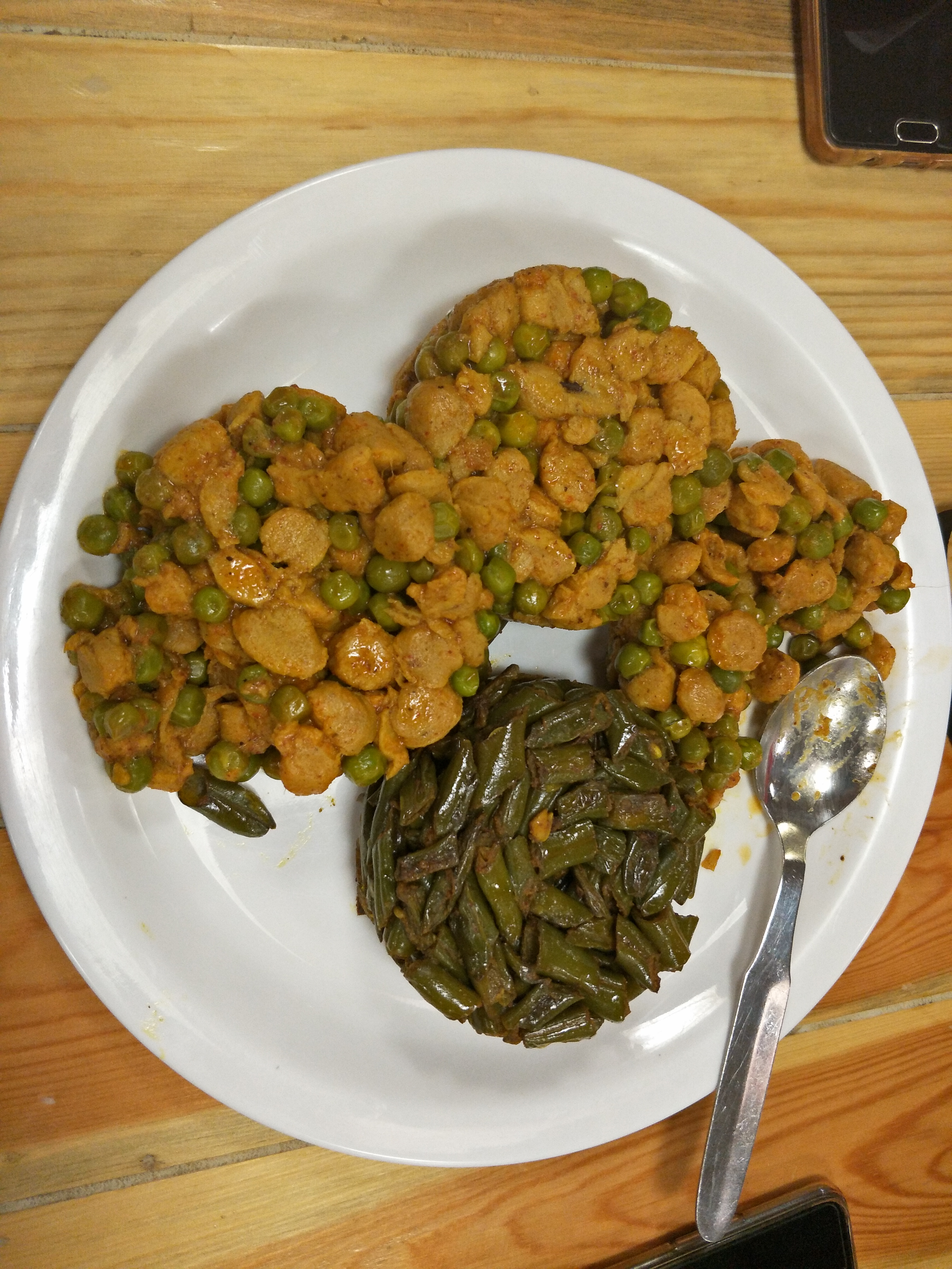 Matar Soya & Masala Beans