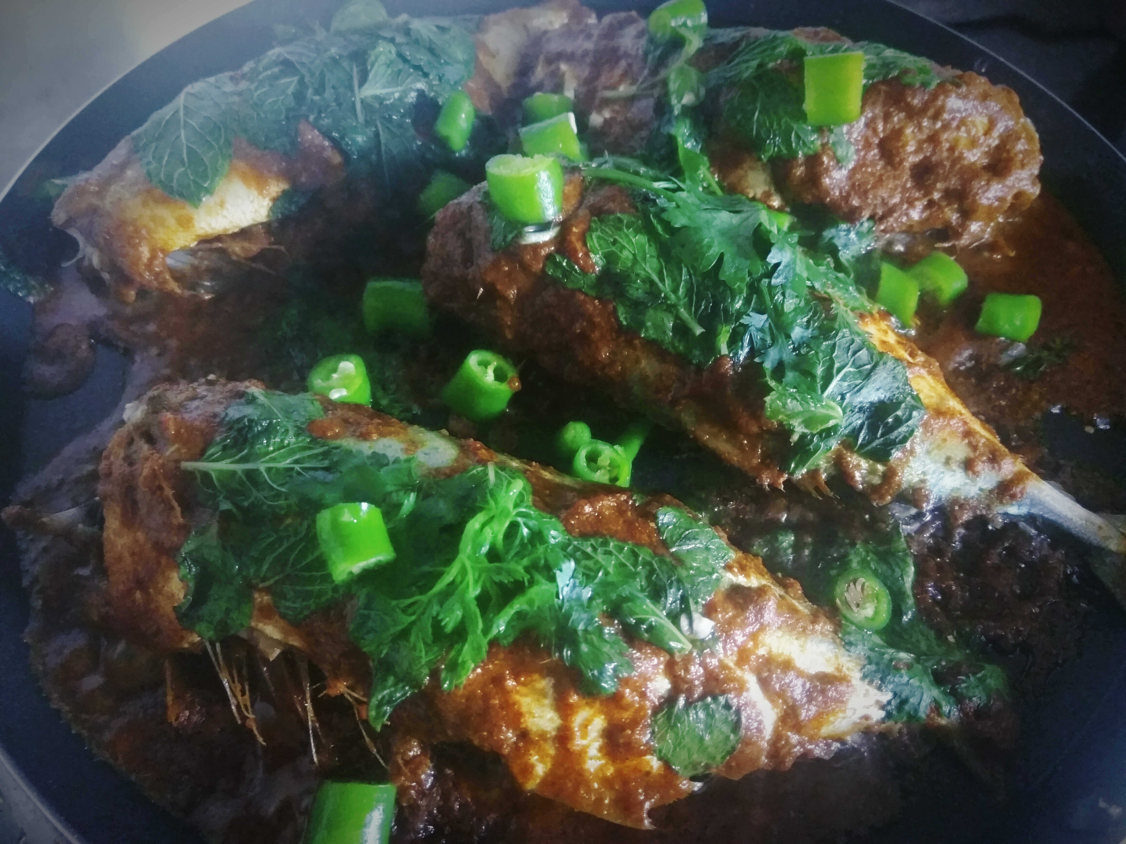 Mackerel fish fry