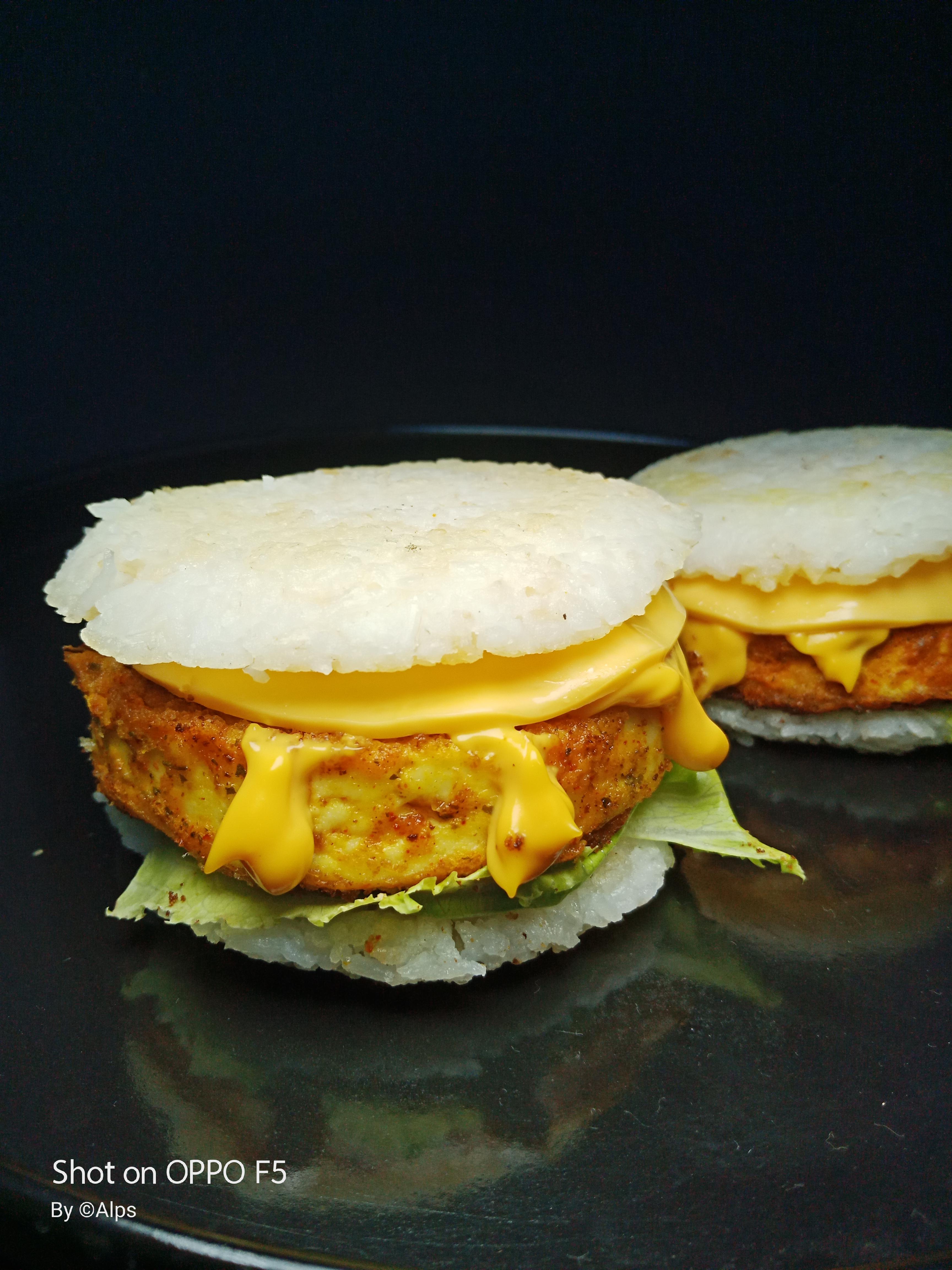 #Riceburger#lowcalburger#dietburger