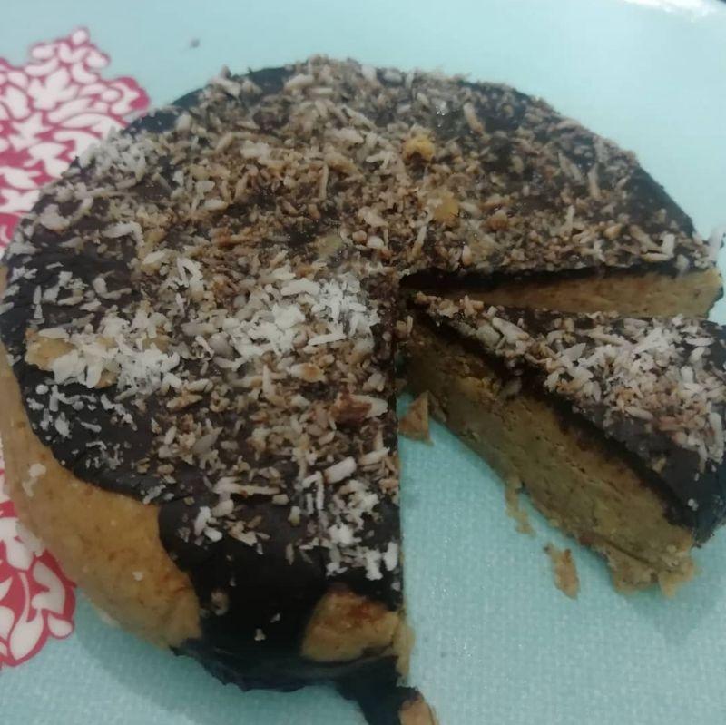 low carb almond flour pudding