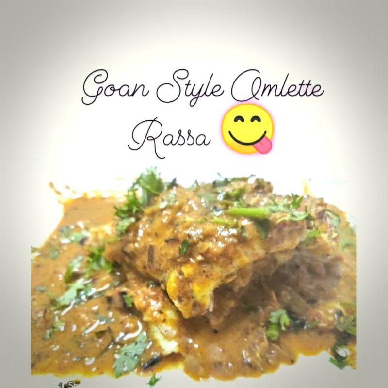 Goan Style Omlette Rassa