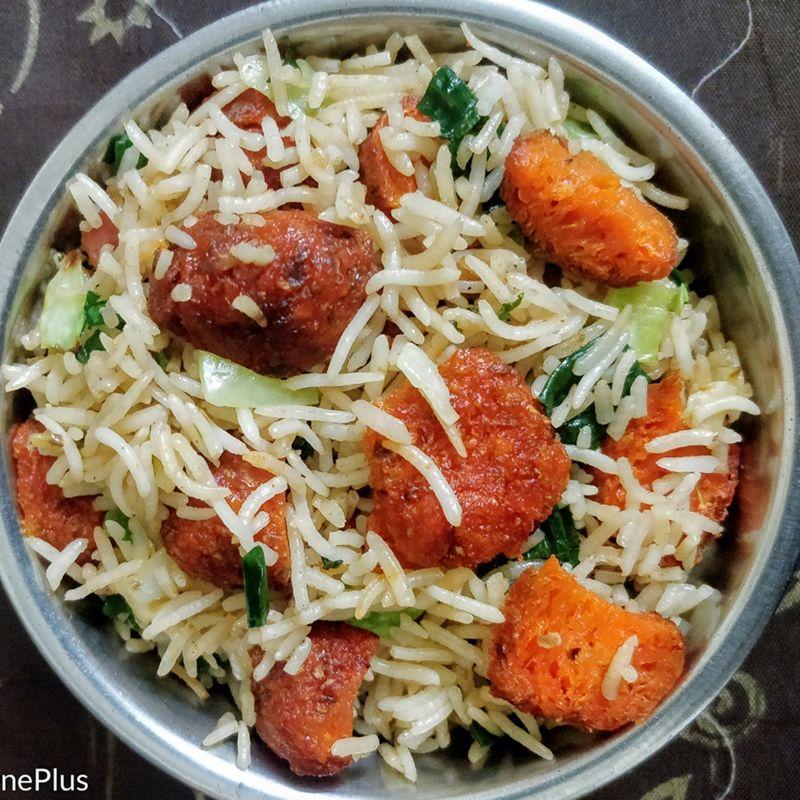 Paneer Machurian Fried Rice