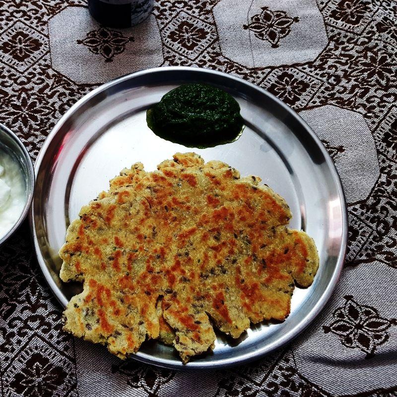 Jowar Paneer Paratha