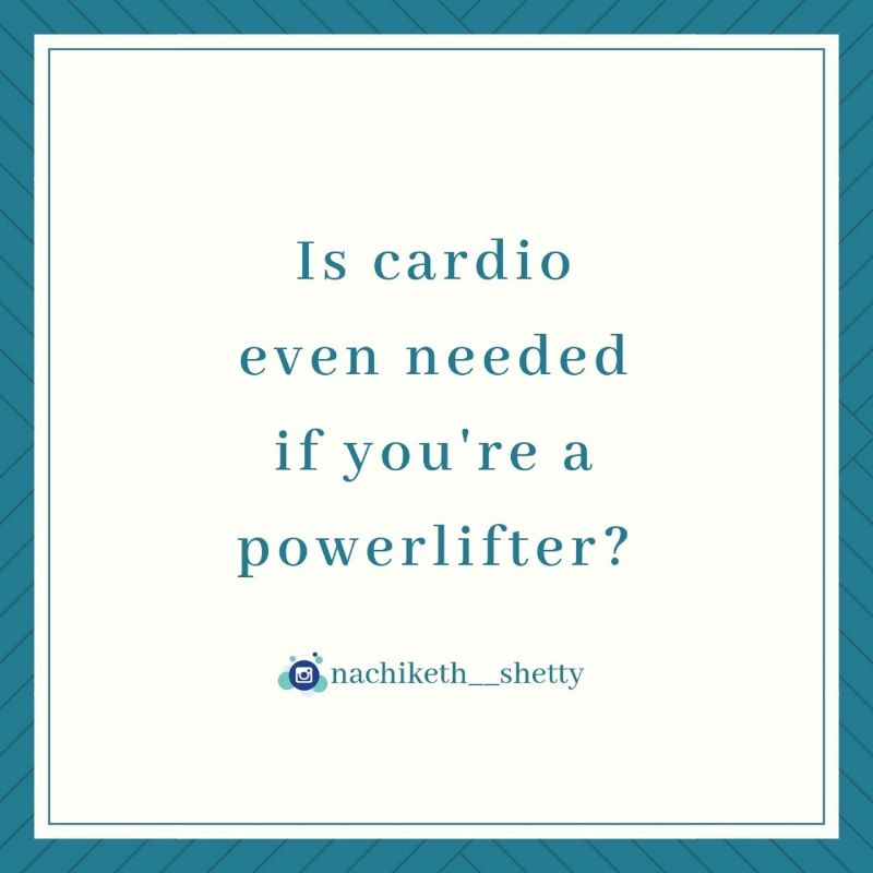 cardio for lifters?